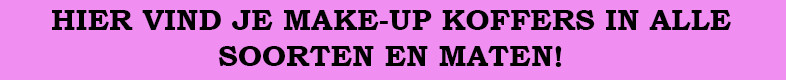 make up koffer | Opbergtips