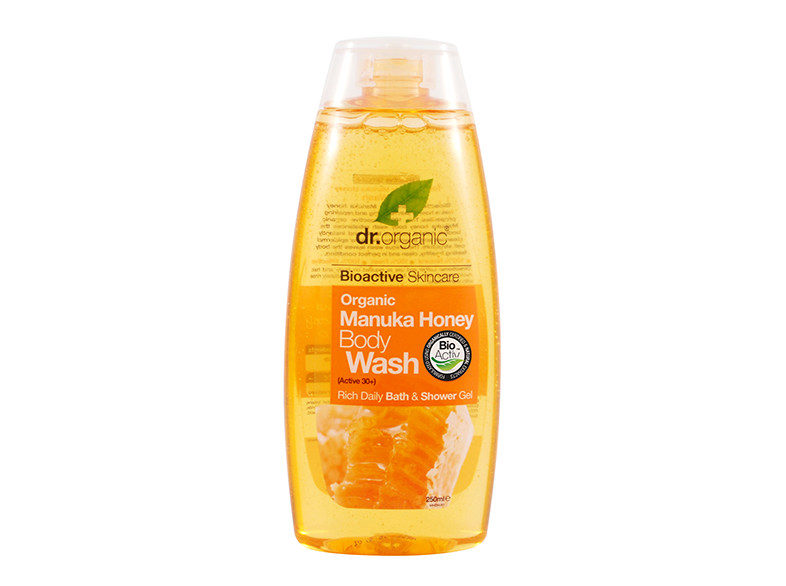 dr. organic body wash