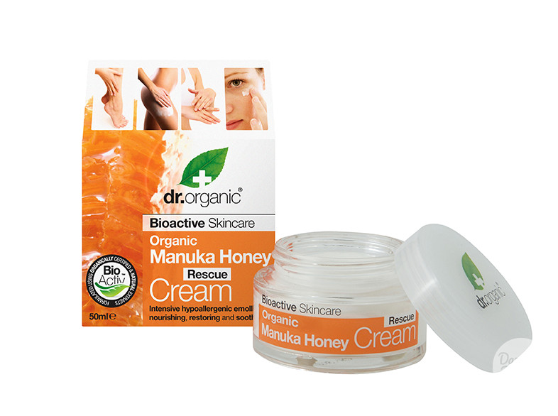 dr. organic rescue cream
