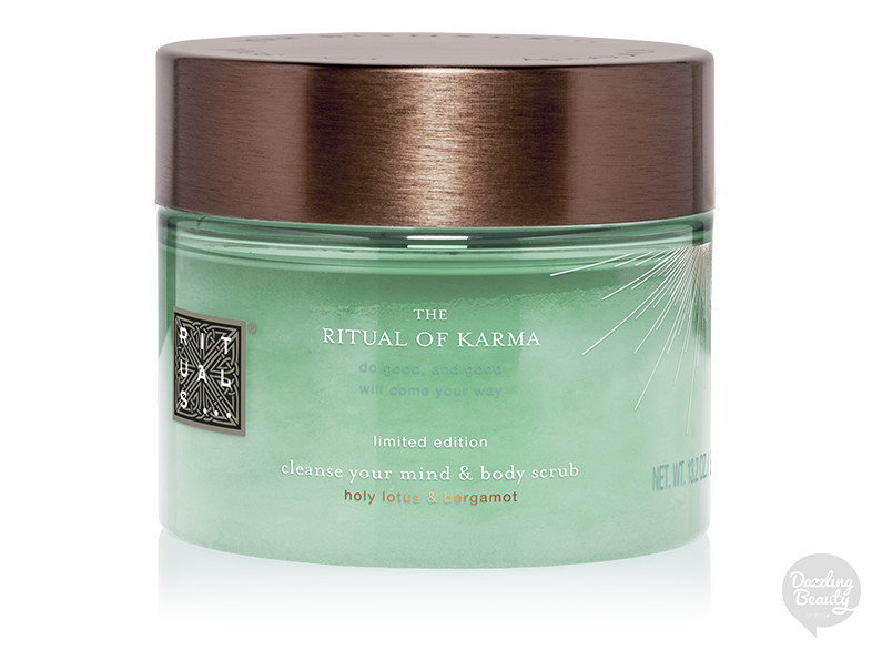 the ritual of karma bodyscrub