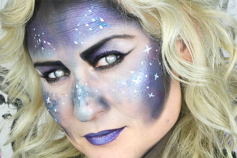 galaxy makeup 2 tutorial