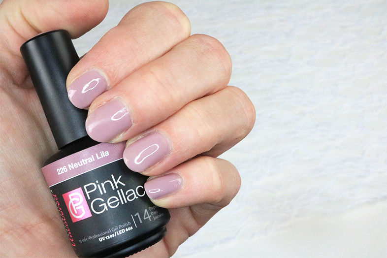 pink gellac review dag 1