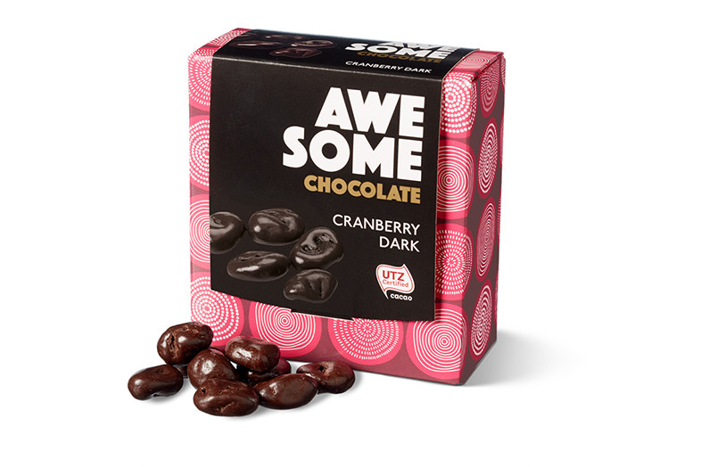 awesome chocolate cranberry dark