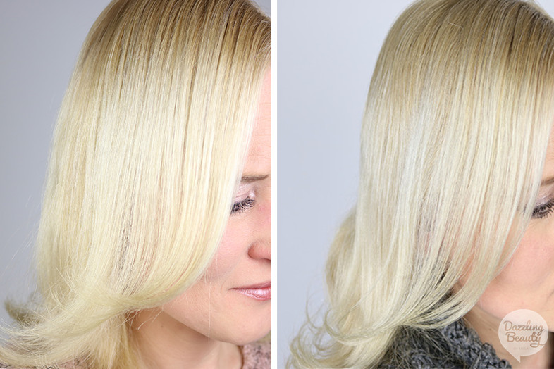 voor en na fudge clean blonde
