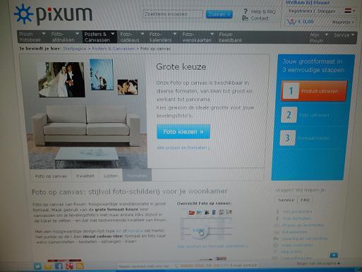 review pixum foto op canvas. Black Bedroom Furniture Sets. Home Design Ideas