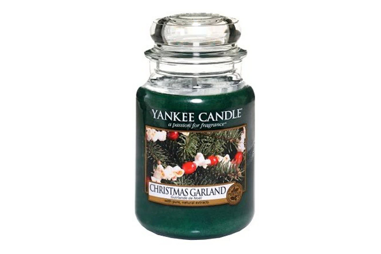 yankee candle christmas garland