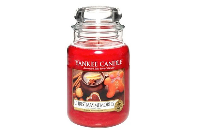 yankee candle christmas memories
