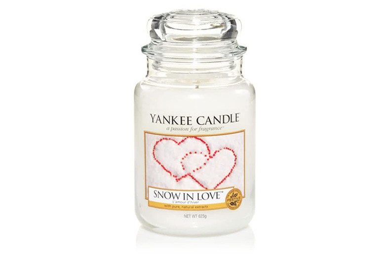 yankee candle snow