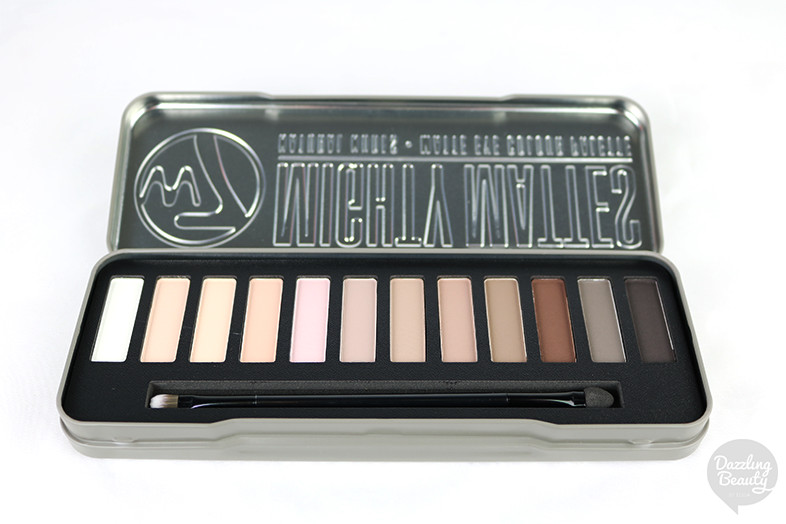 w7 mighty mattes palette