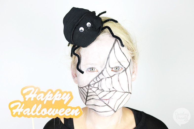 spinnen make up halloween