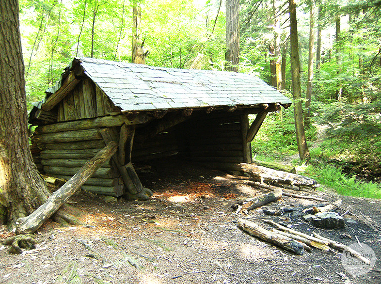 allegany state park hiking hut