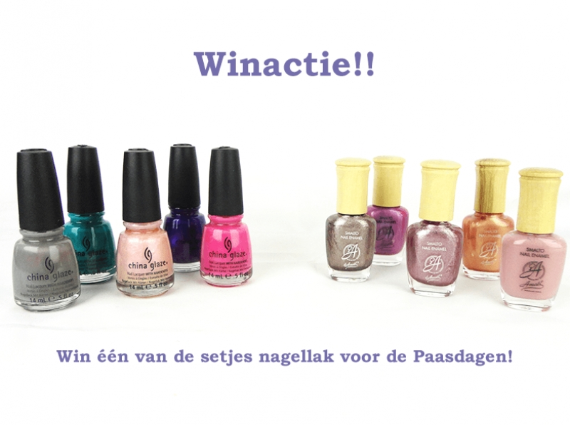 Win Amati of China Glaze nagellak!