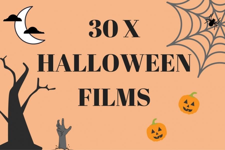 30 x halloween films