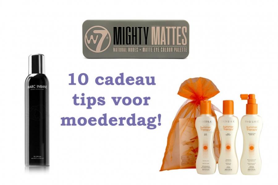 10 moederdag cadeau tips