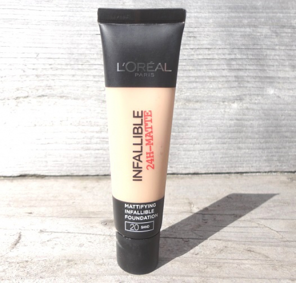 L'Oréal Mattifying Infallible Foundation review