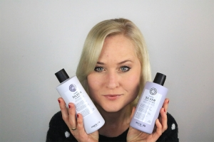 De zilvershampoo en conditioner van Maria Nila!