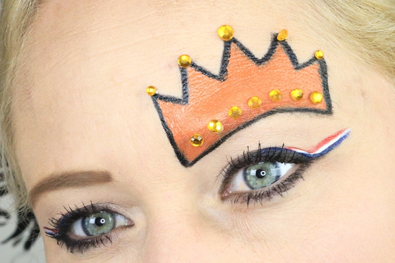 koningsdag make up
