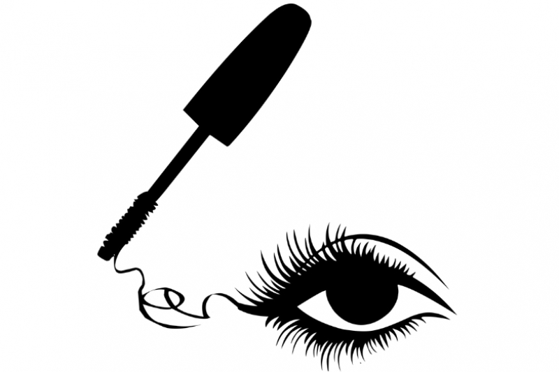 Wat doet make-up - mascara