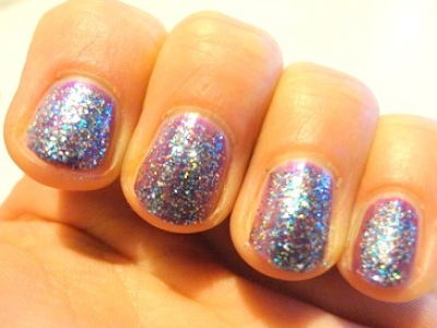 NOTD - Flashy Nails met China Glaze & OPI