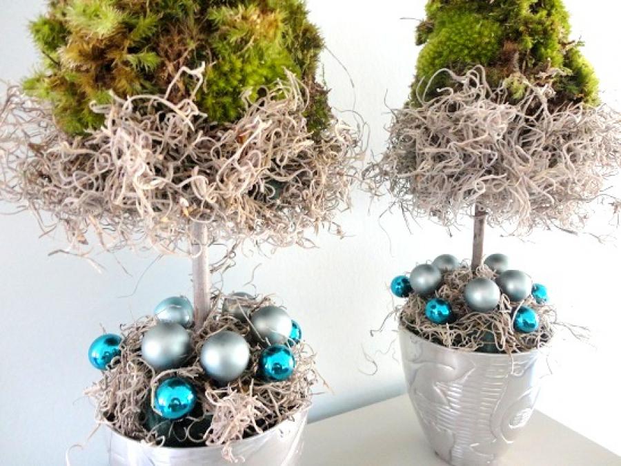 Kerstmis decoratie knutselen meer dan idee n over houten kerstbomen op beste idee n over - Idee voor thuis ...