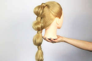 Trendy bobbels in je haar met de bubble ponytail!
