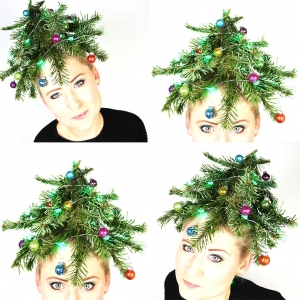 Crazy Hairstyle | Kerstboom Haar!