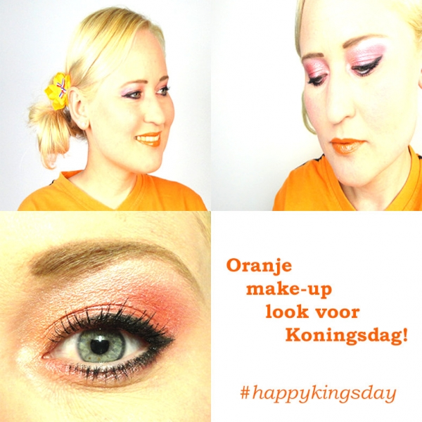 Koningsdag Make-up Look 2016!