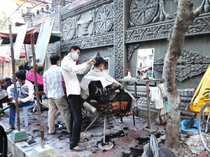 De straatkapper in Cambodja - Beauty spotten op reis!