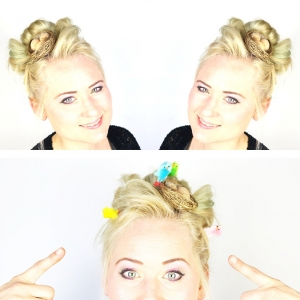 Crazy Easter Hair | Paaskapsel '17!