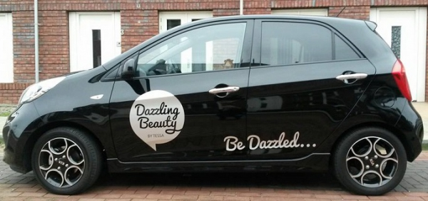 Dazzling Beauty on the road!