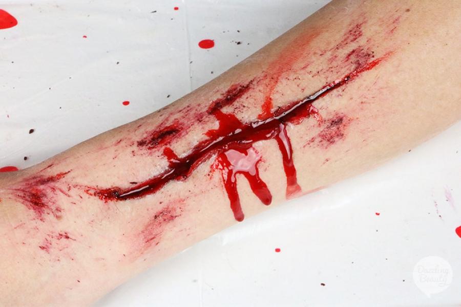nep wond maken grimas derma wax
