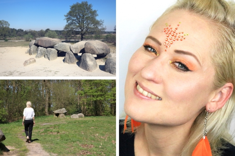 Hunebedden en Koningsdag Make-up!