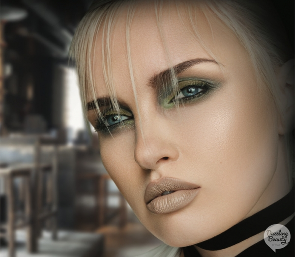 Make-up Trend Green Embrace Make-up Studio