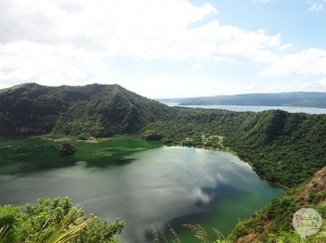 Mount Taal op Vulcano Islands in de Filipijnen!