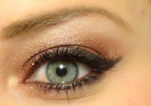 Kerst make-up look 2014