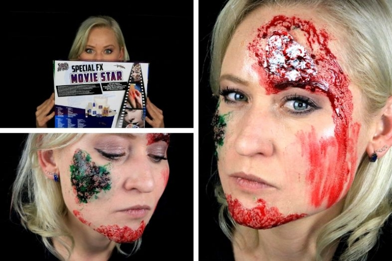 5 verschillende Halloween looks met de Action make-up kit!
