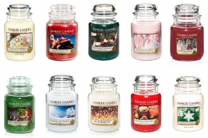 Yankee Candle Christmas Jars!