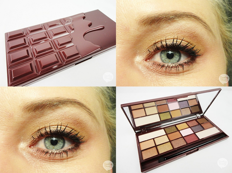 I Heart Chocolate Palette Review en Make-up Look