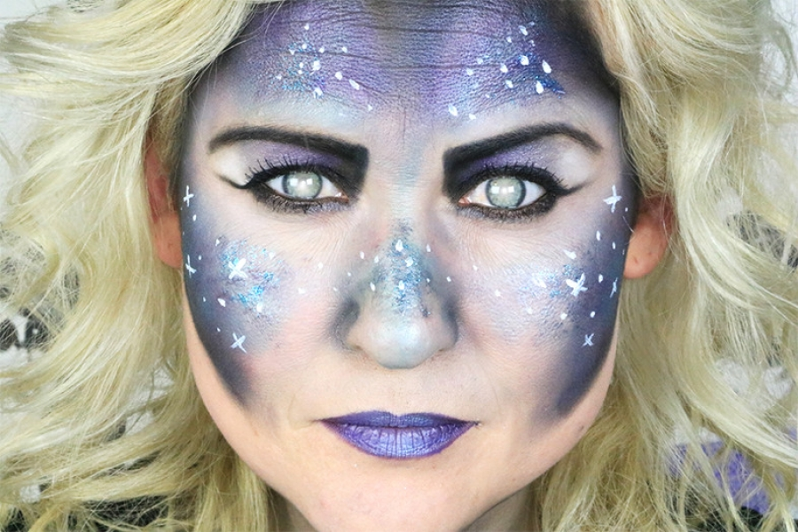 galaxy make up tutorial